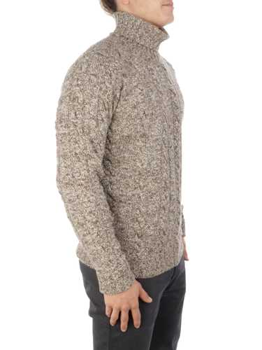 Picture of Brooksfield | Jersey Cable Turtleneck