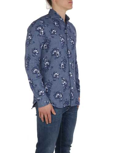 Picture of BARBA | Men's Floral Linen Shirt