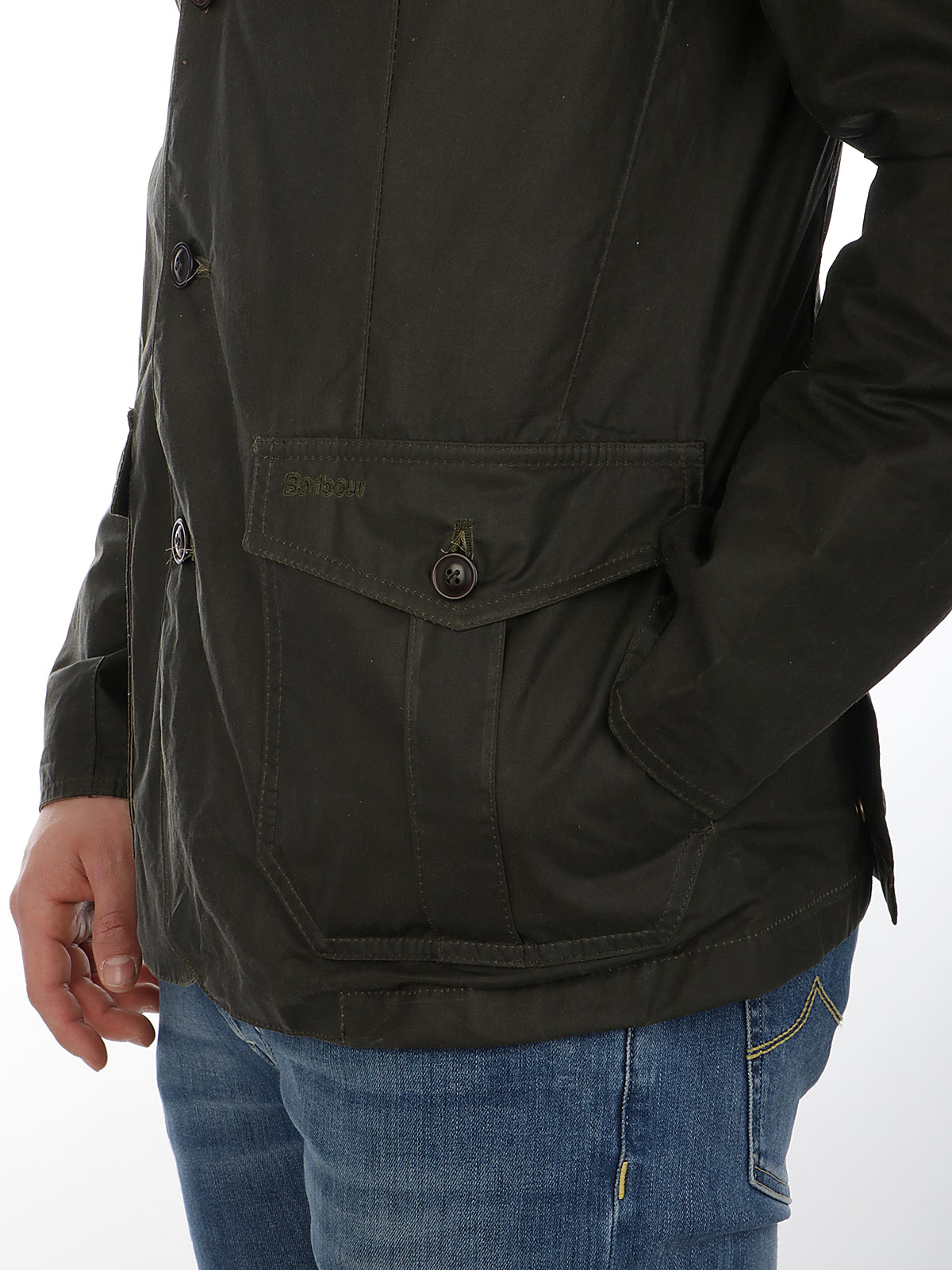 Picture of BARBOUR | Men's Lightweight Sander Wax Jacket
