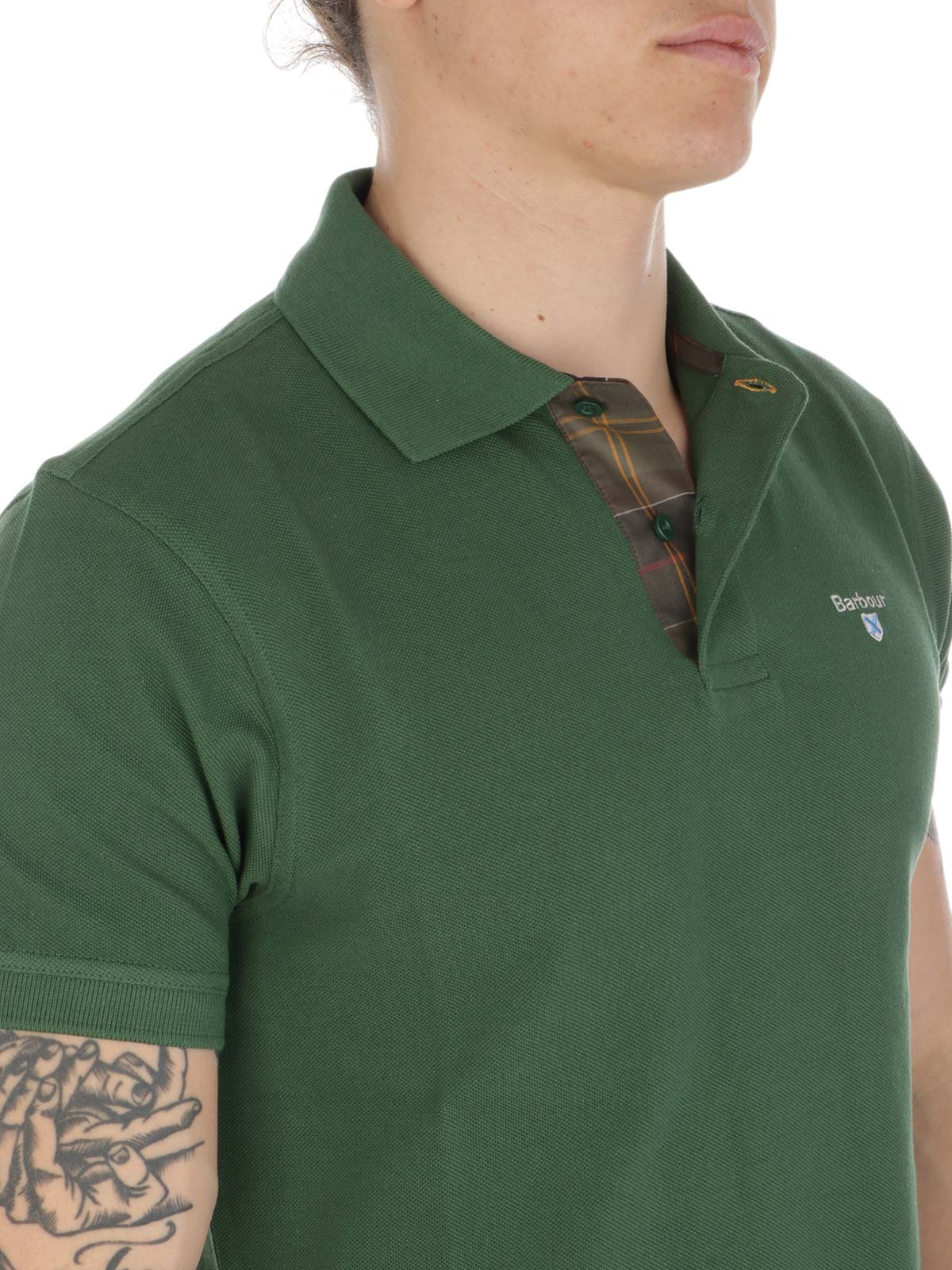 Picture of BARBOUR | Men's Piquè Polo Shirt