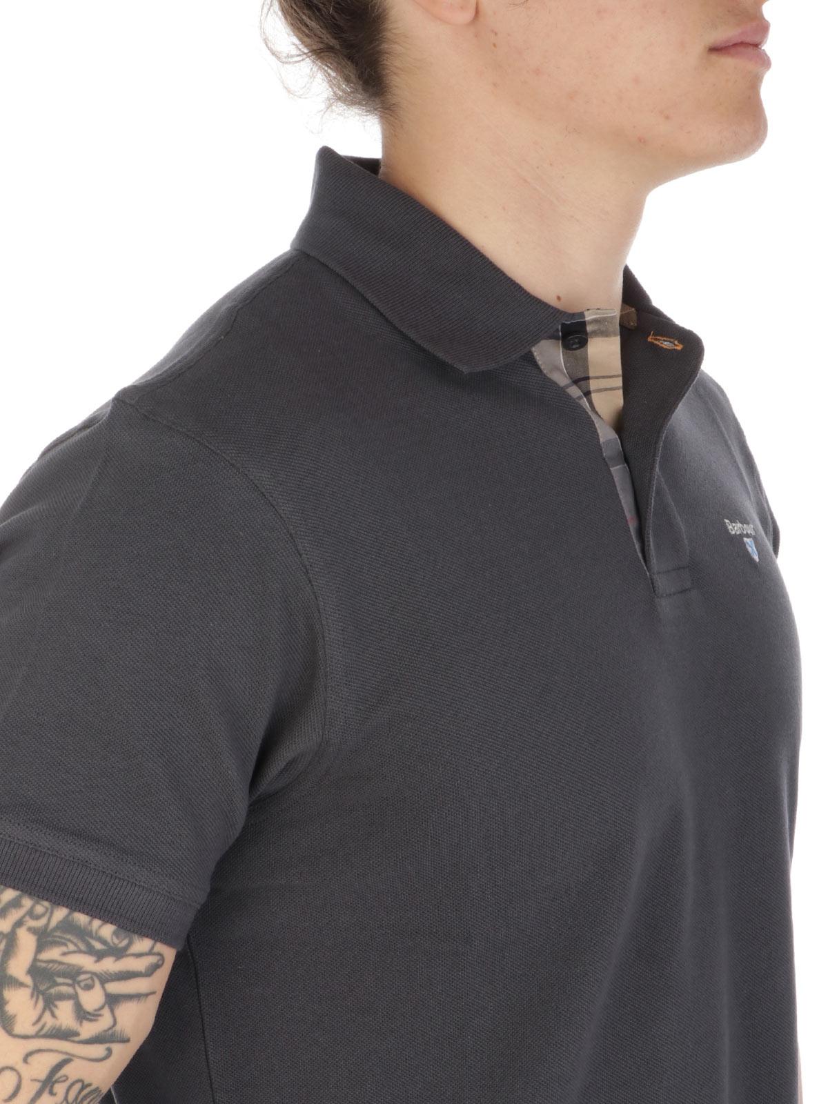 Picture of BARBOUR | Men's Piquè Polo Shirt