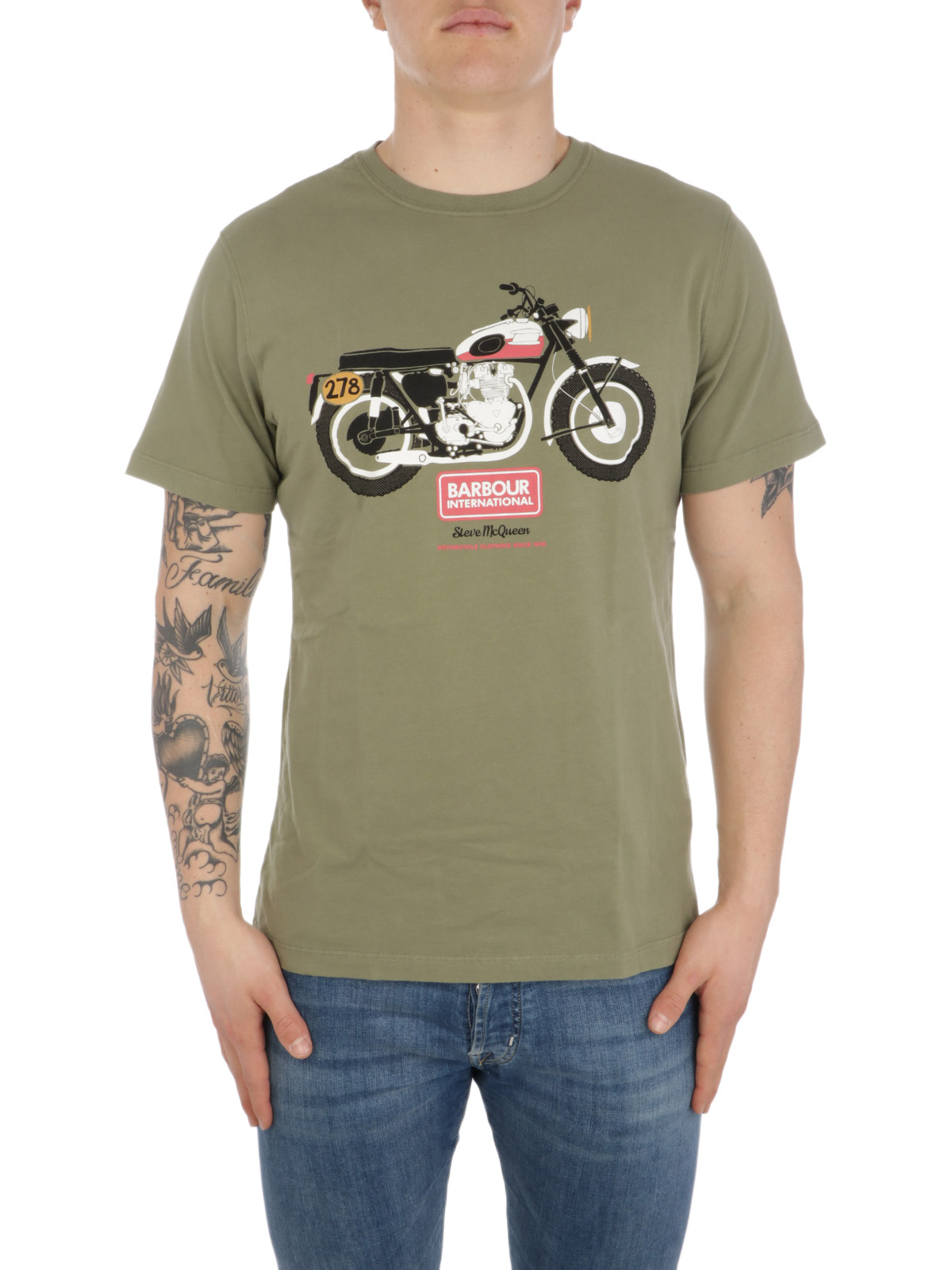 Picture of BARBOUR | Men's Indiana Tee