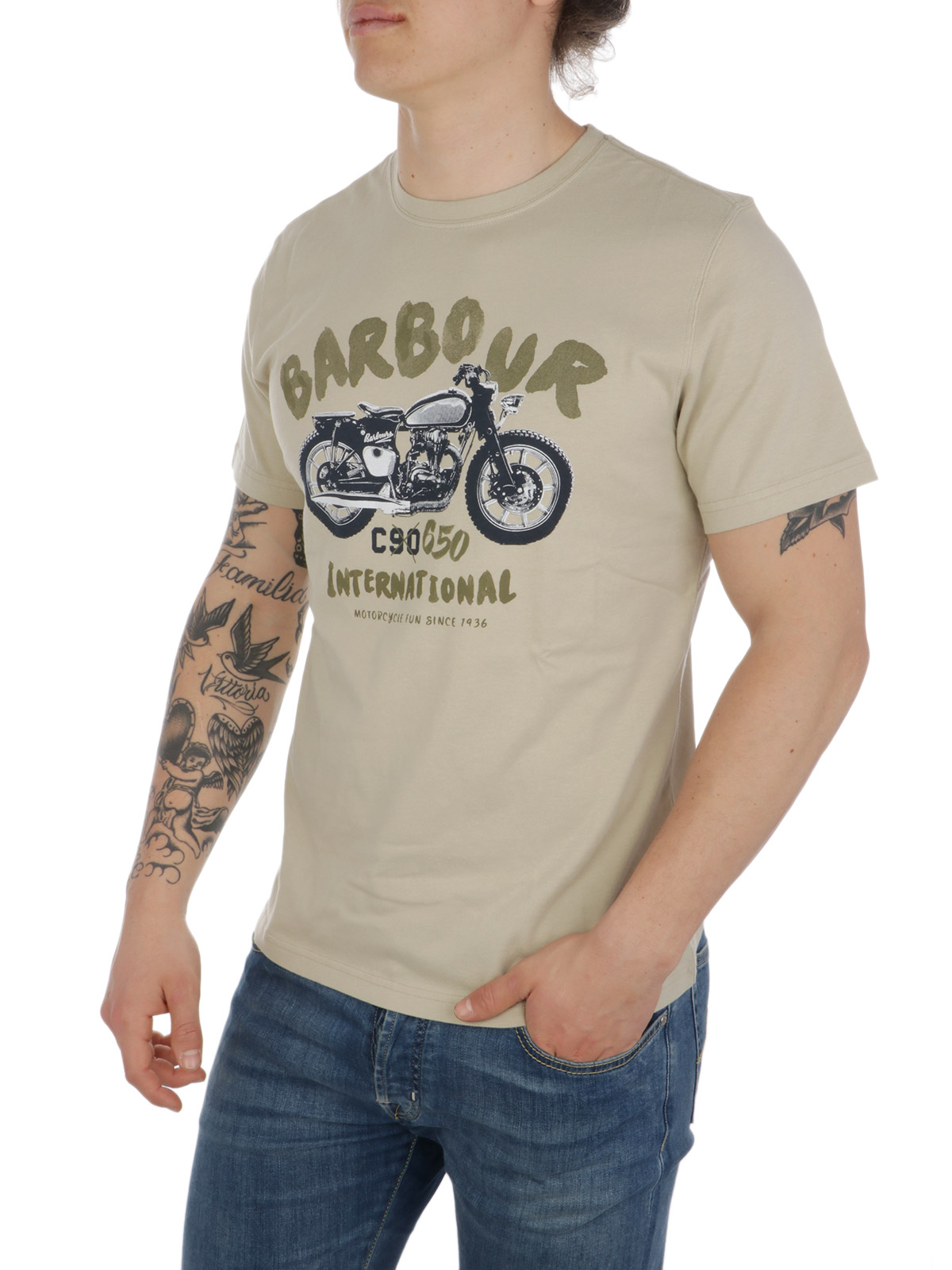 Immagine di BARBOUR | T-Shirt Uomo Bike Print
