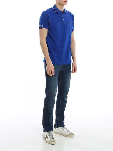 Picture of POLO RALPH LAUREN | Men's Lettering Polo Shirt