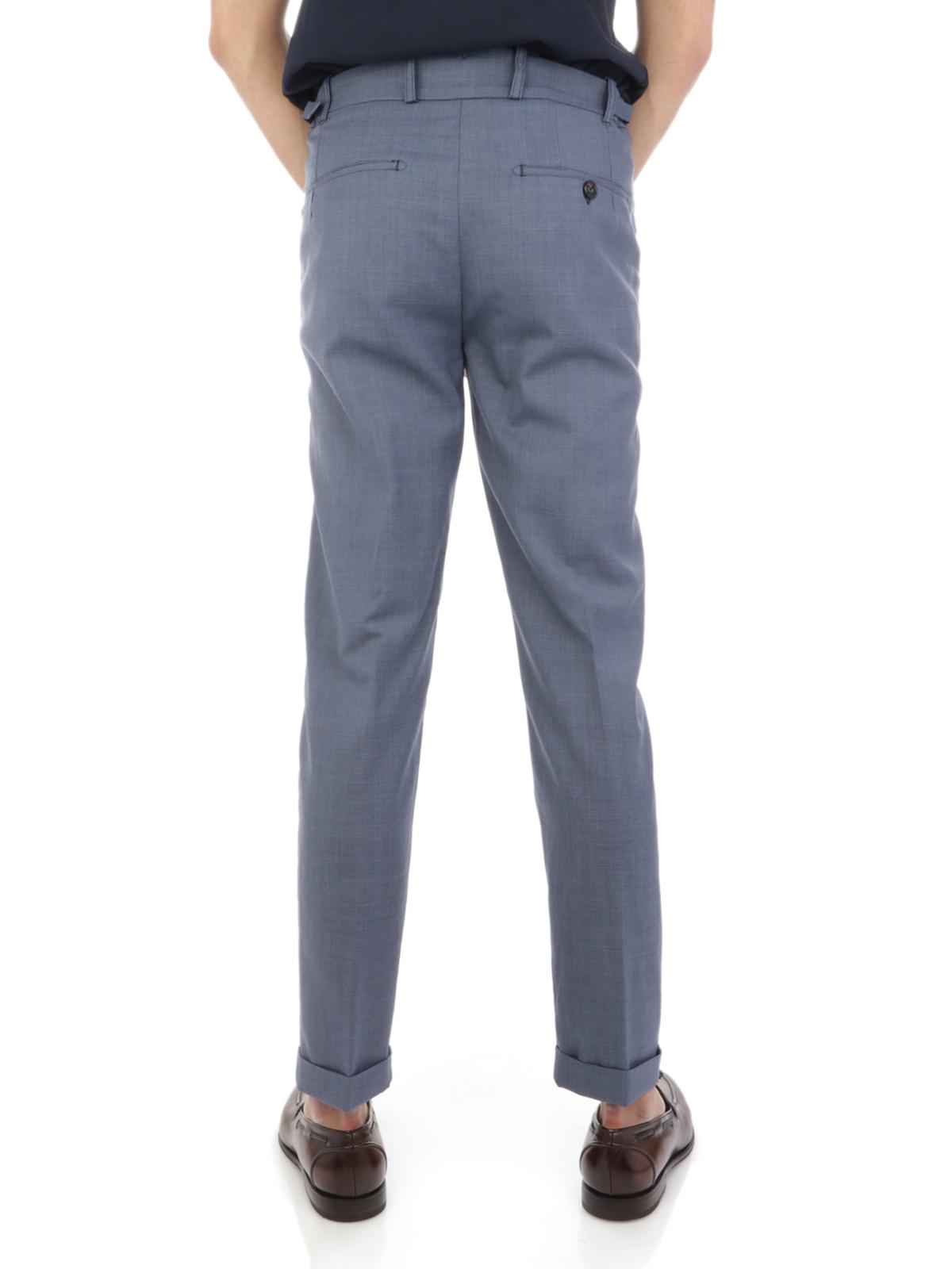Immagine di BERWICH | Pantalone Uomo Retro in Lana