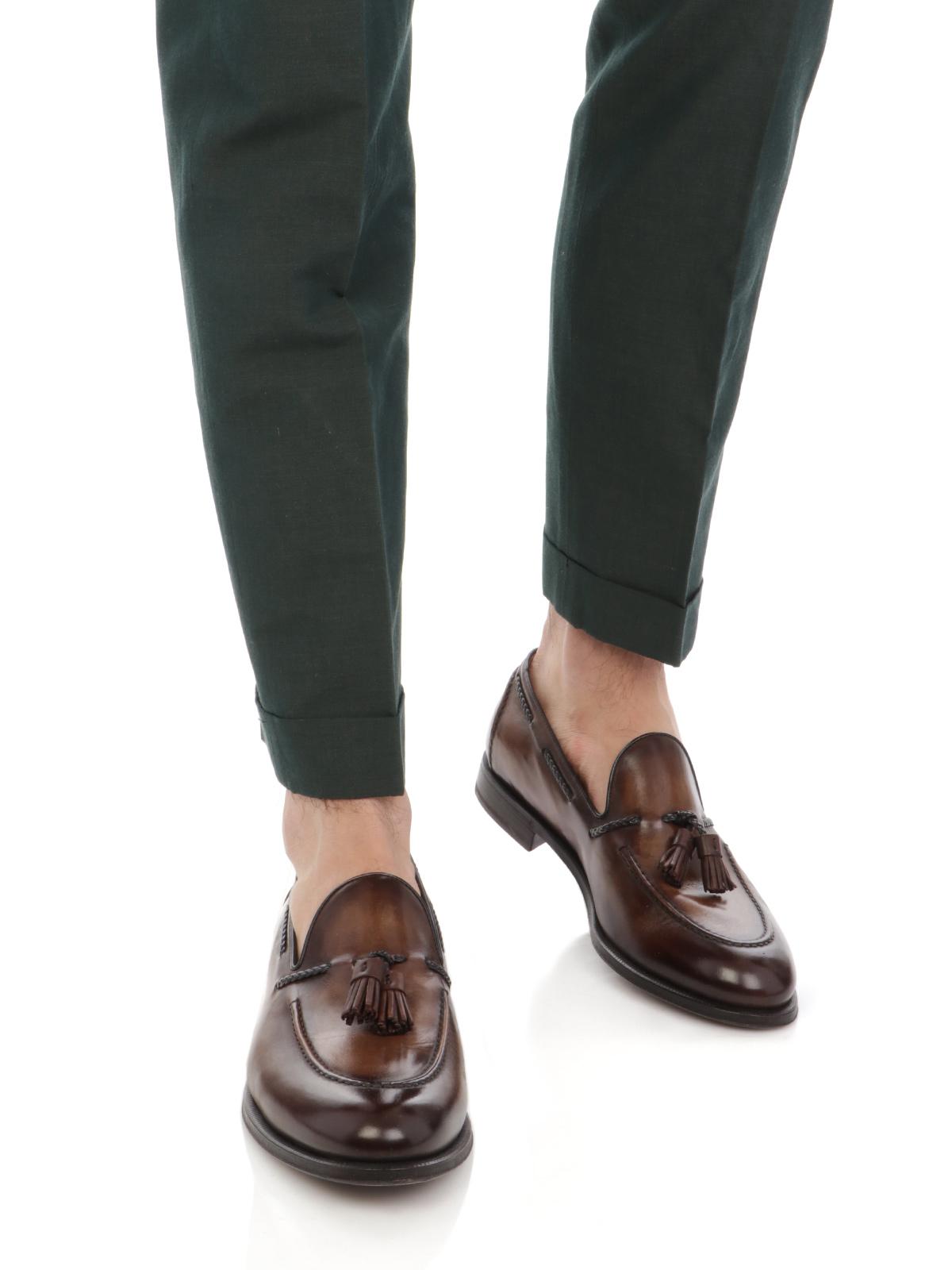 Immagine di BERWICH | Pantalone Uomo Retro in Lino