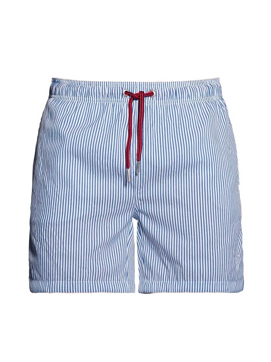 Picture of GANT | Men's Pinstripe Swim Shorts