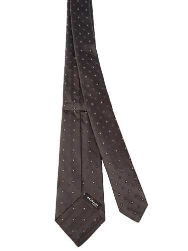 Picture of KITON | Micro Patterned Tie