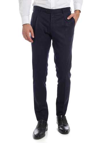 Picture of LBM 1911 | Men's Wool Pleated Trousers