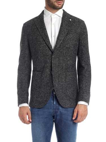 Picture of LBM 1911 | Men's Herringbone Blazer