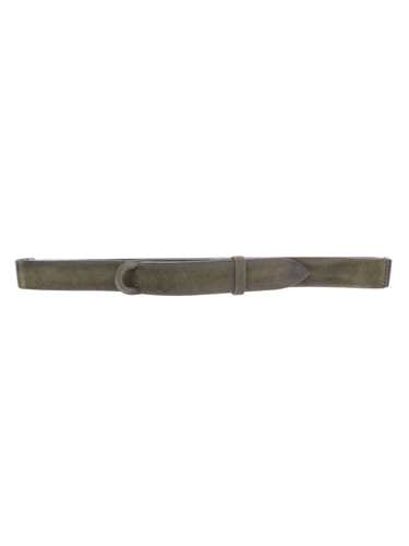 Picture of ORCIANI | Men's Nobuckle Cloudy Suede Belt