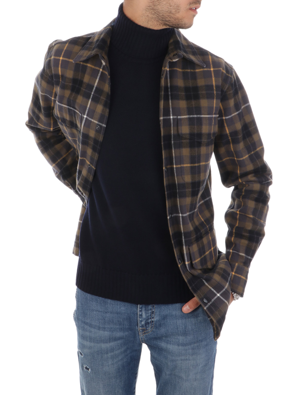 Picture of ASPESI | Men's Hercules Checked Shirt