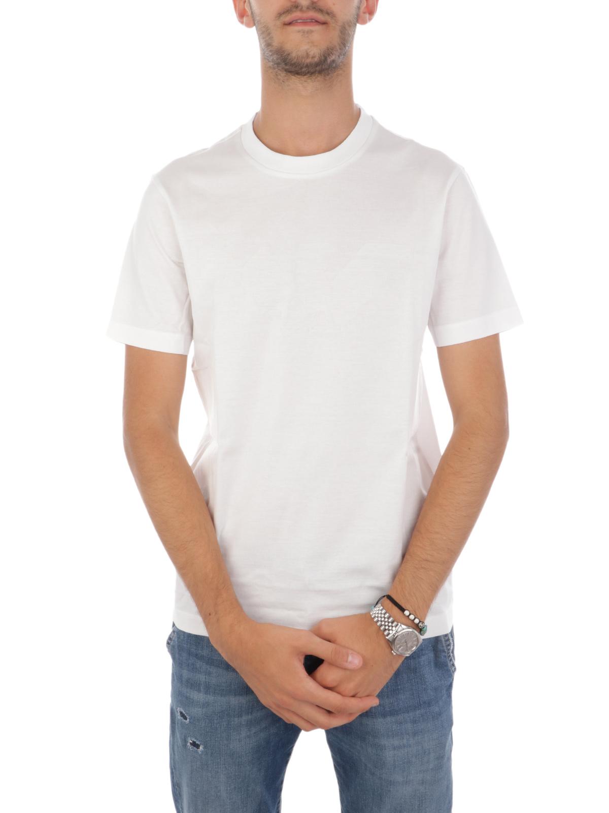 Picture of EMPORIO ARMANI | Men's Embossed Logo T-Shirt