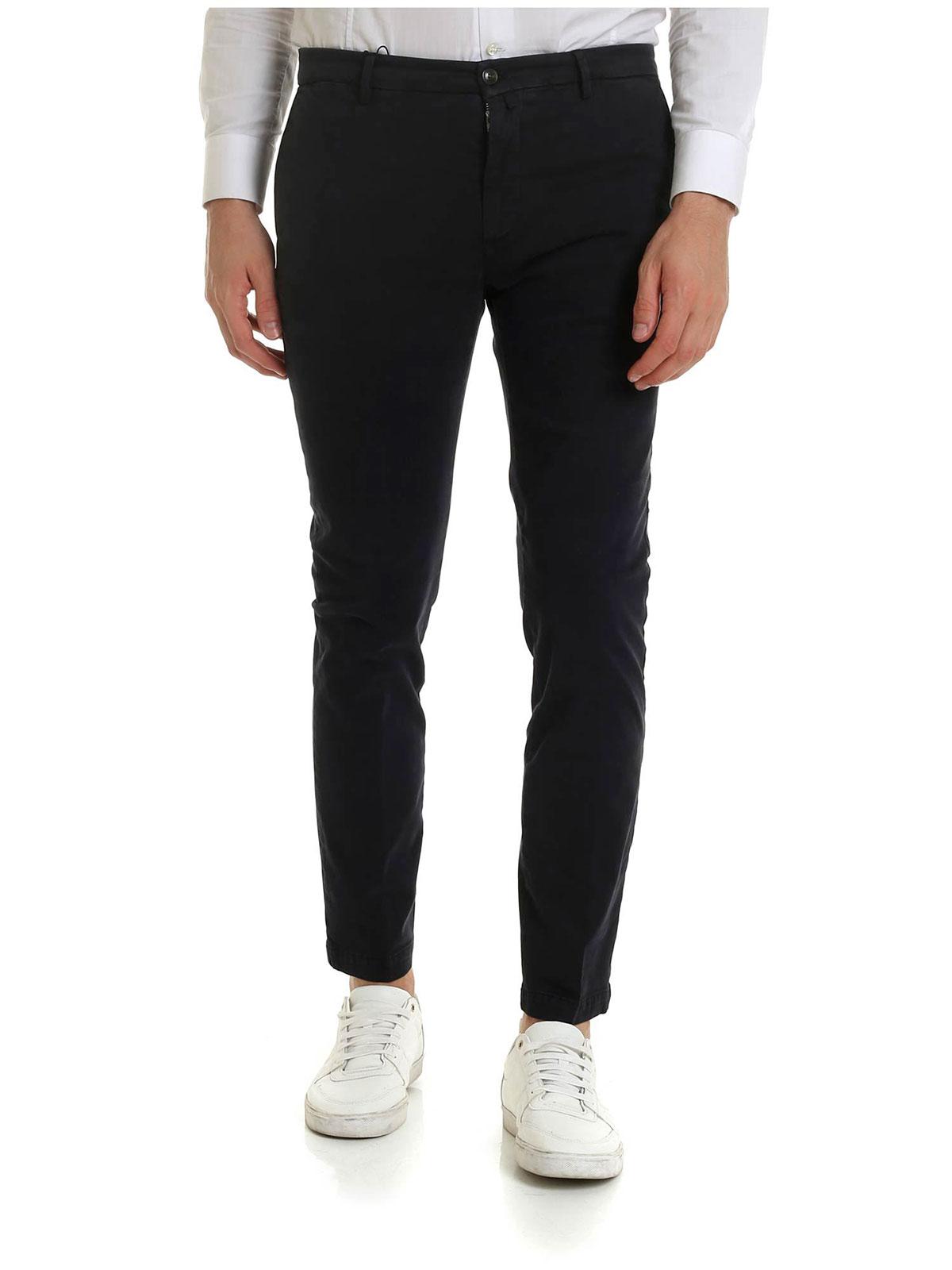 metà prezzo sempre popolare nuovi arrivi BRIGLIA 1949 Pantalone Uomo in Cotone Stretch Blu Scuro | BG04 ...