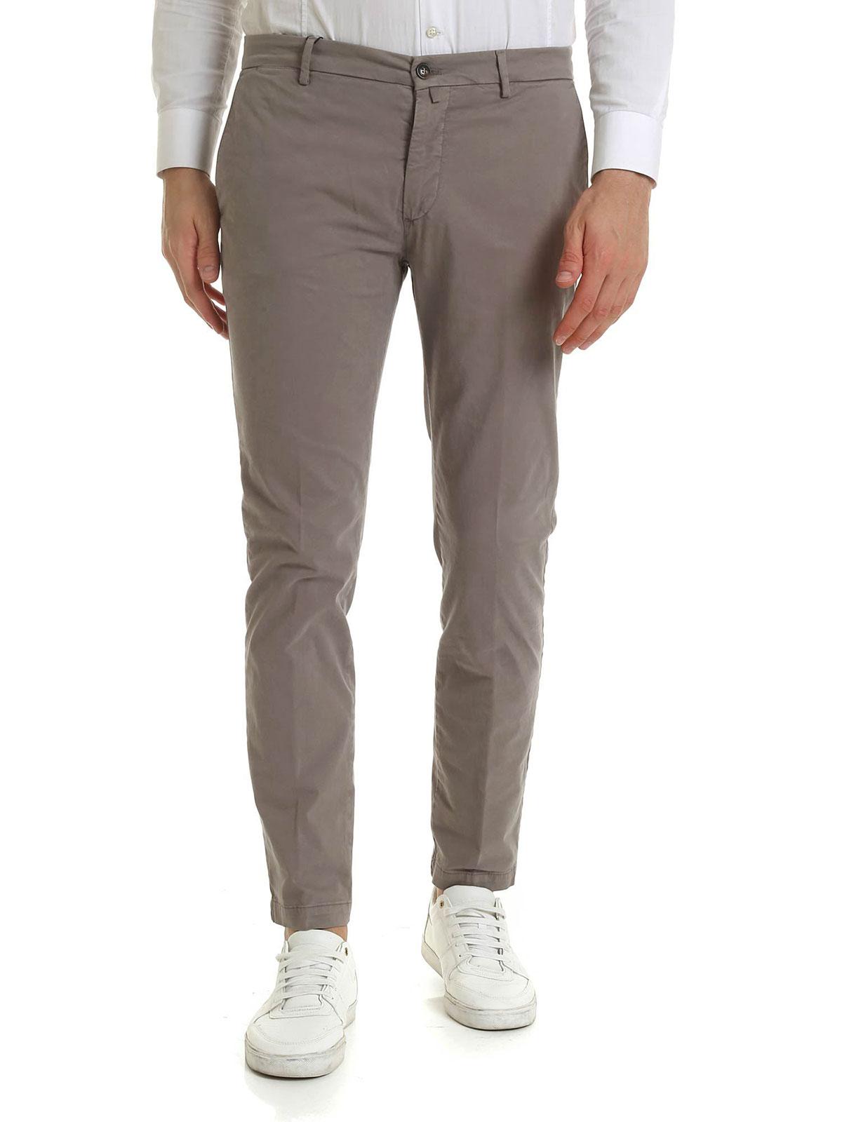 Picture of BRIGLIA 1949   Men's Stretch Cotton Trousers