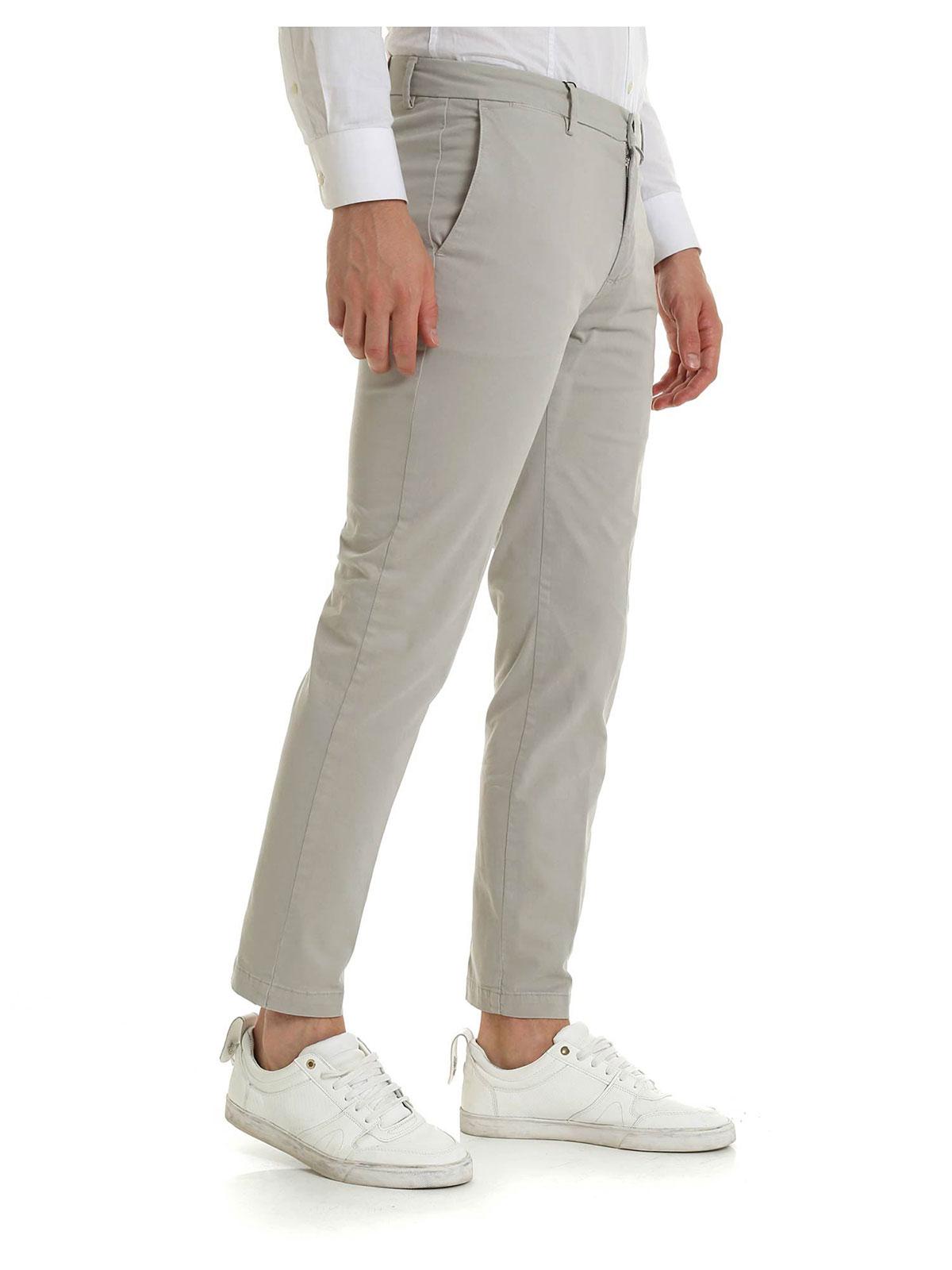 Picture of BRIGLIA 1949 | Men's Stretch Cotton Trousers