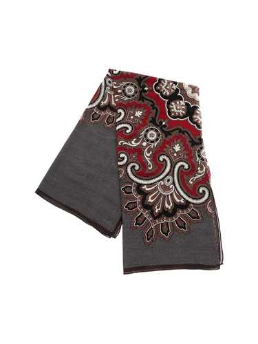 Picture of TAGLIATORE | Men's Scarf with Paisley Print
