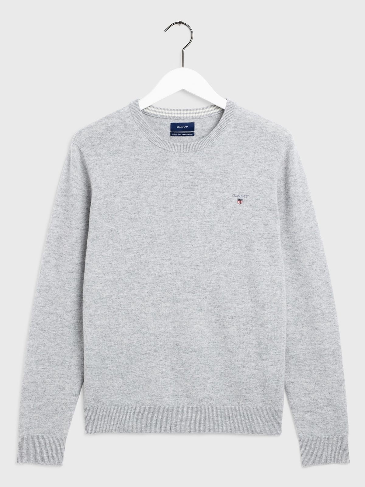 Picture of Gant | Jersey Superfine Lambswool Crew
