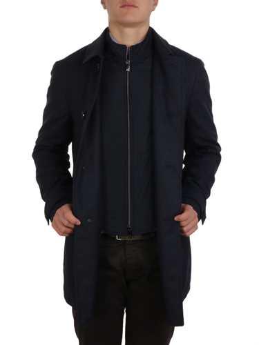 Picture of CORNELIANI | Men's Virgin Wool Coat