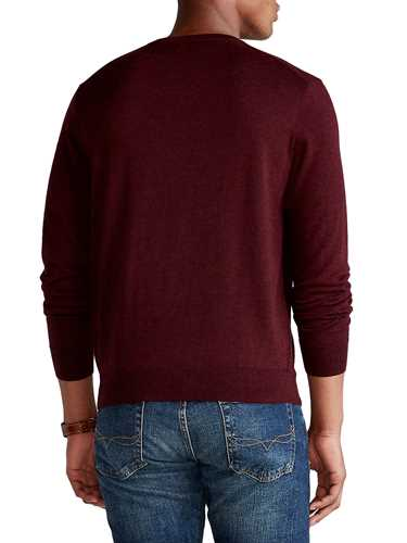Picture of POLO RALPH LAUREN   Men's Crewneck Wool Pullover