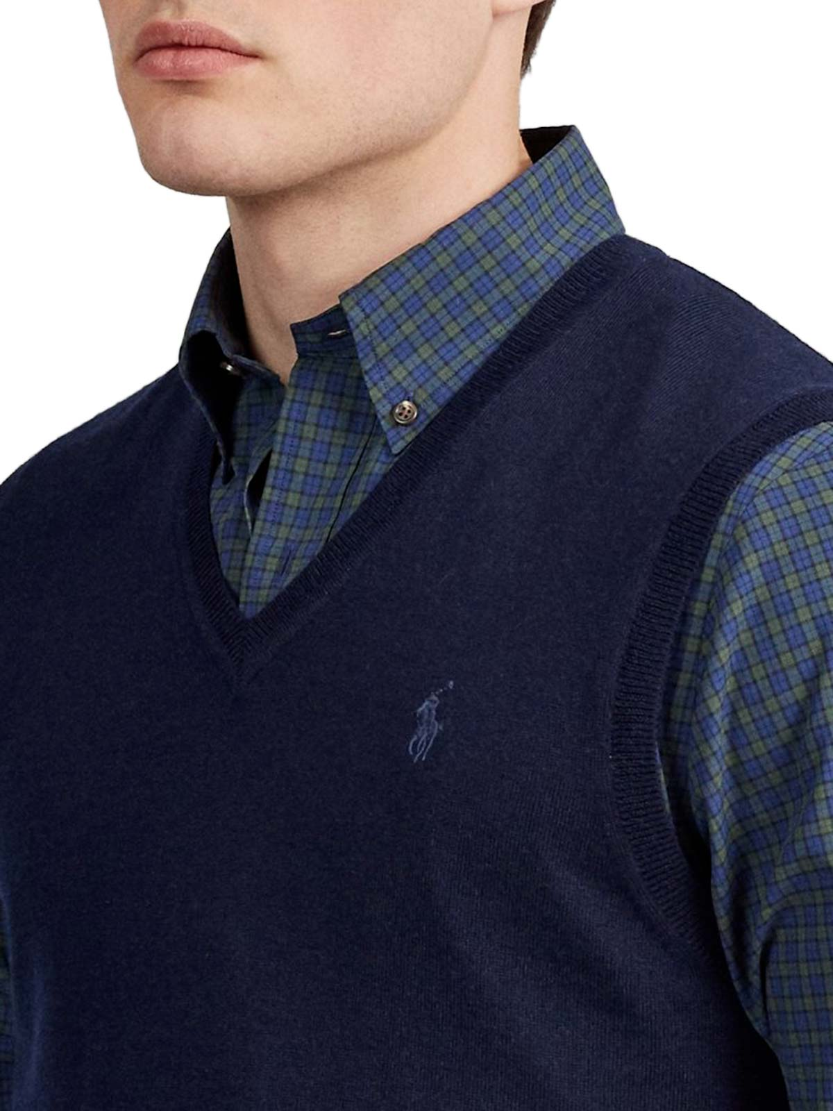 Picture of POLO RALPH LAUREN | Men's Merino Wool Vest