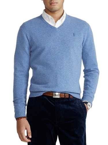 Picture of POLO RALPH LAUREN   Men's Merino V-Neck Sweater