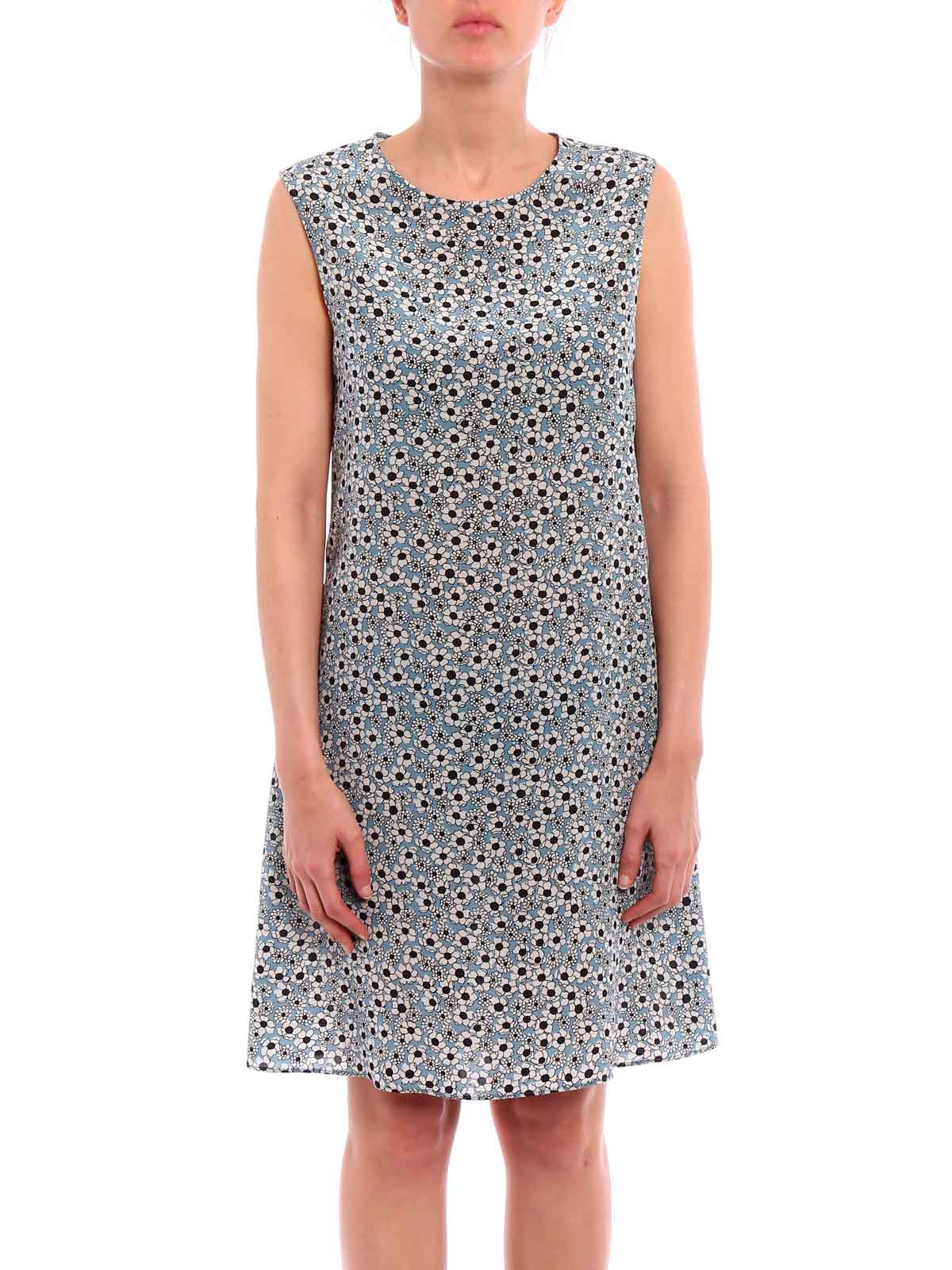 Picture of ASPESI | Women's Small Flower Print Dress