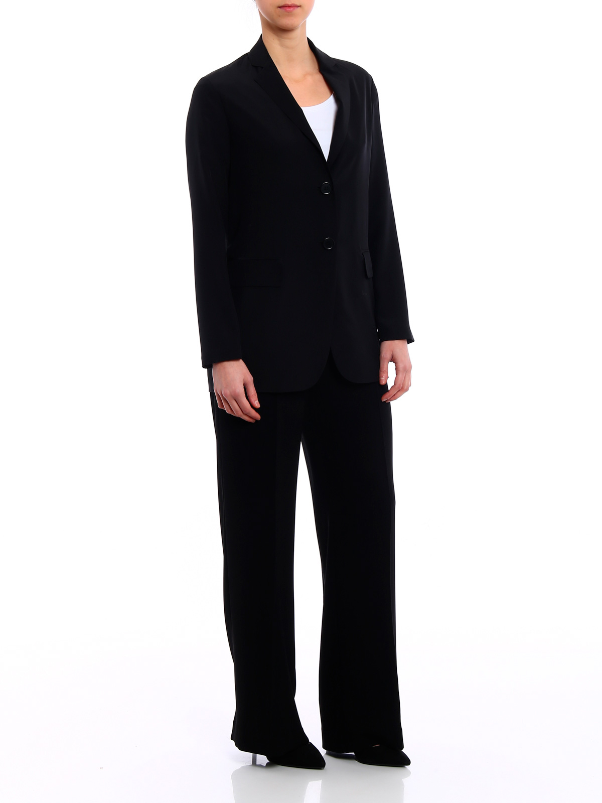 Picture of ASPESI | Women's Solid Silk Blazer