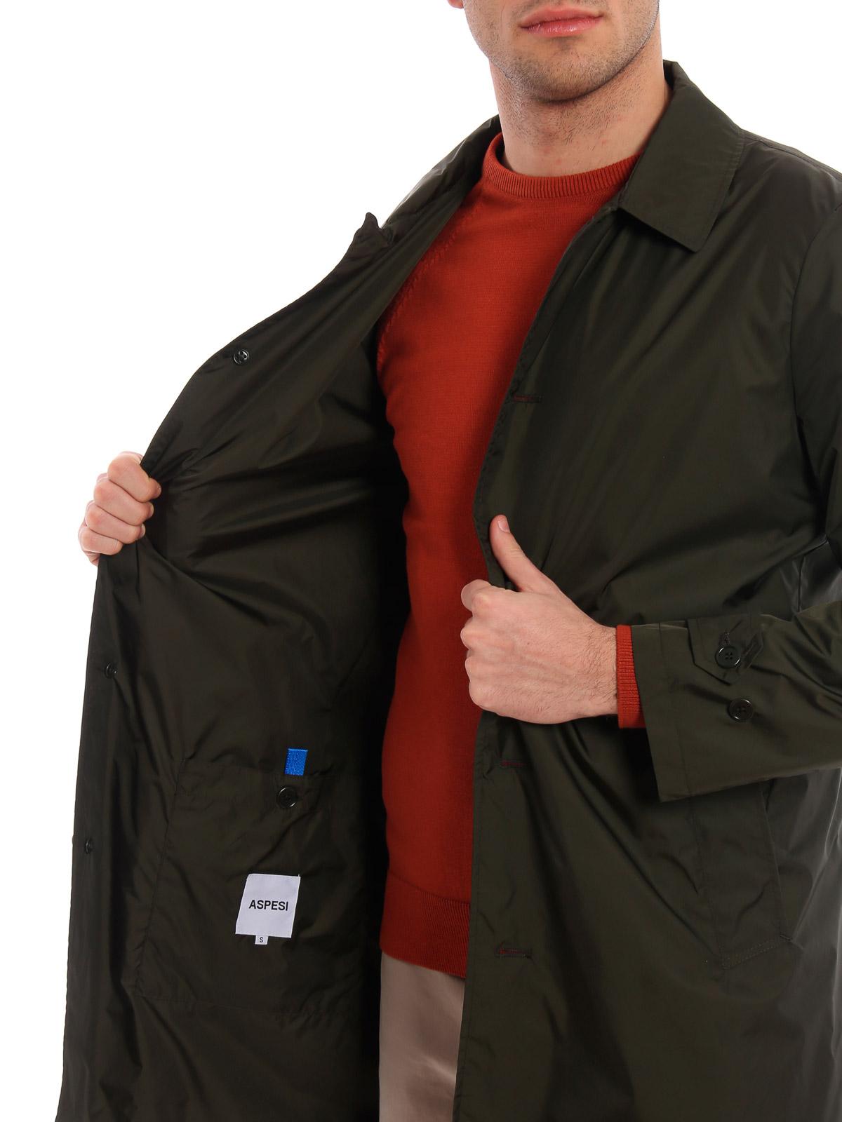 Picture of ASPESI | Men's Limone Raincoat