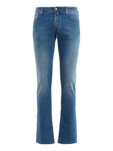 Picture of JACOB COHEN | Men's Indigo Dyed Jeans