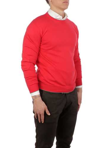 Picture of ALTEA | Men's Bordered Crewneck Sweater