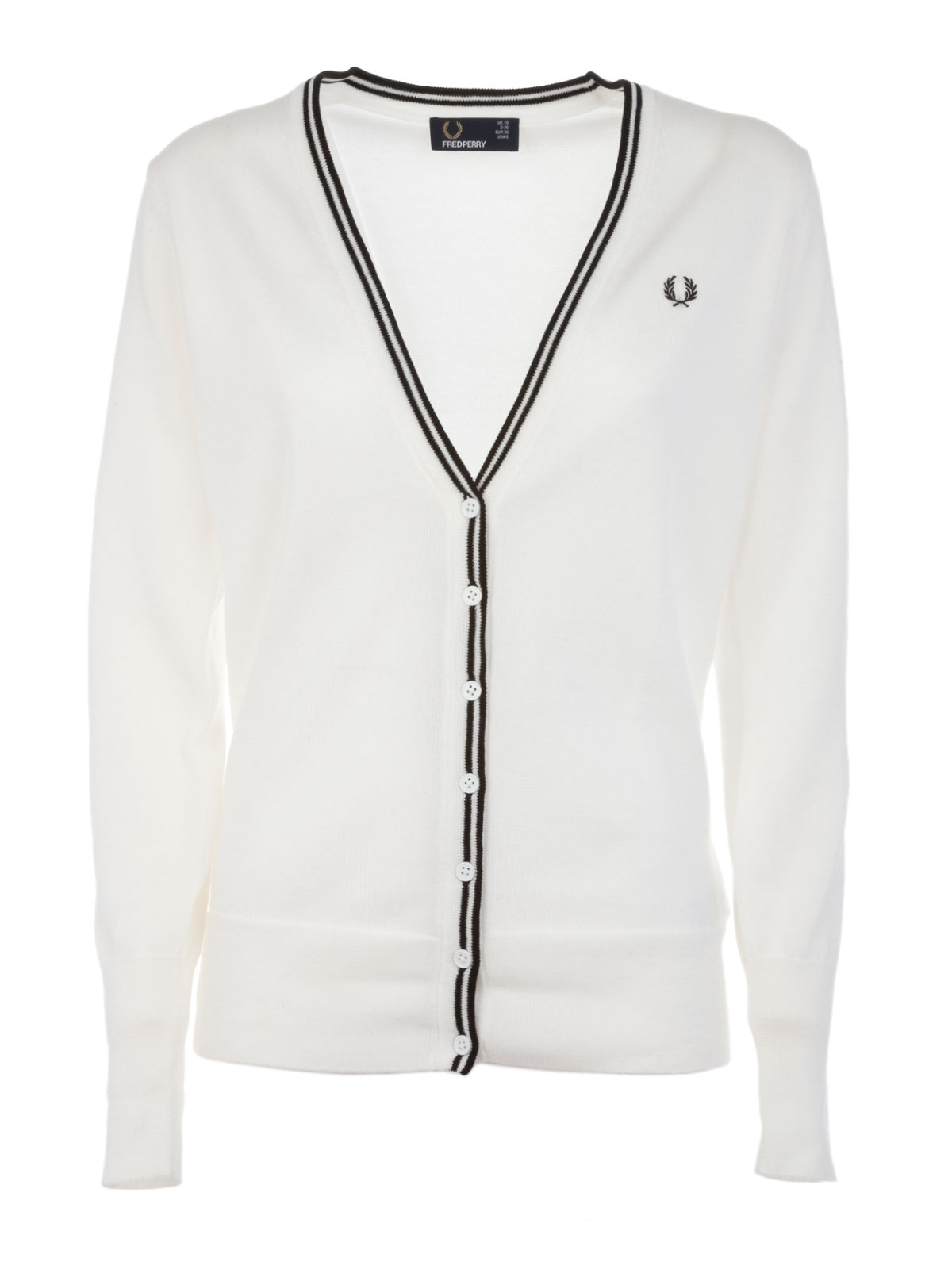 Immagine di Fred Perry | Cardigan Scollo V