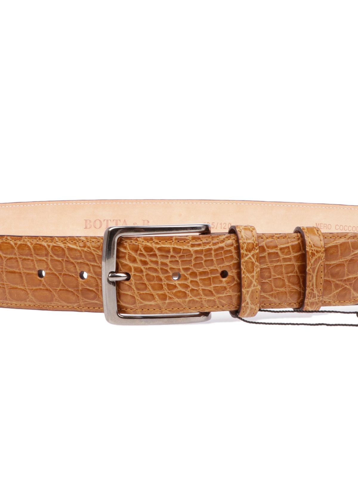 Picture of BOTTA&B  Men's Crocodile Belt