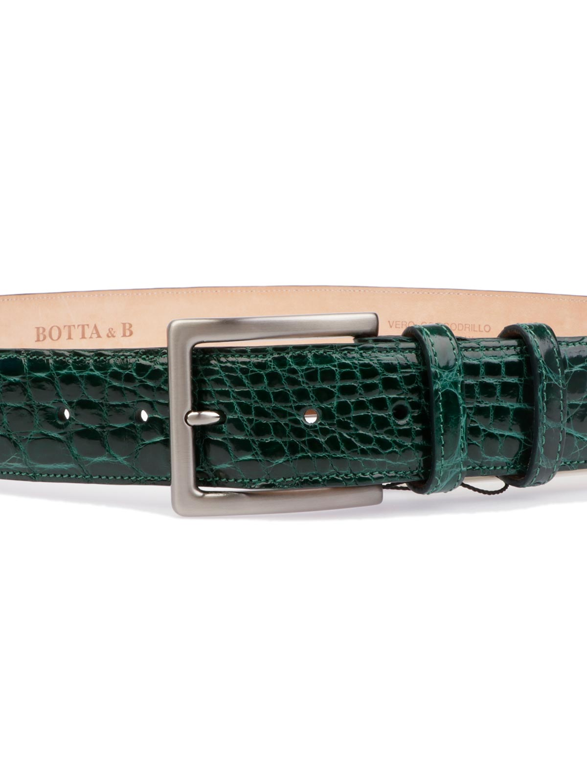 Picture of BOTTA&B| Mens' Crocodile Belt