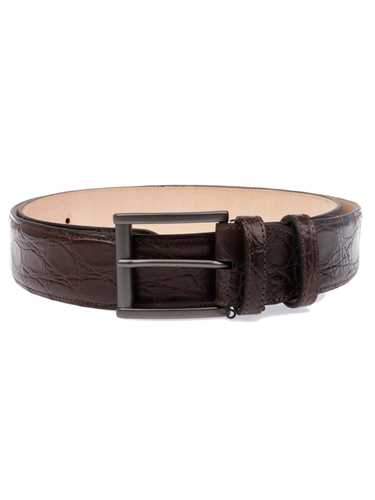 Picture of BOTTA&B| Men's Matte Crocodile Belt