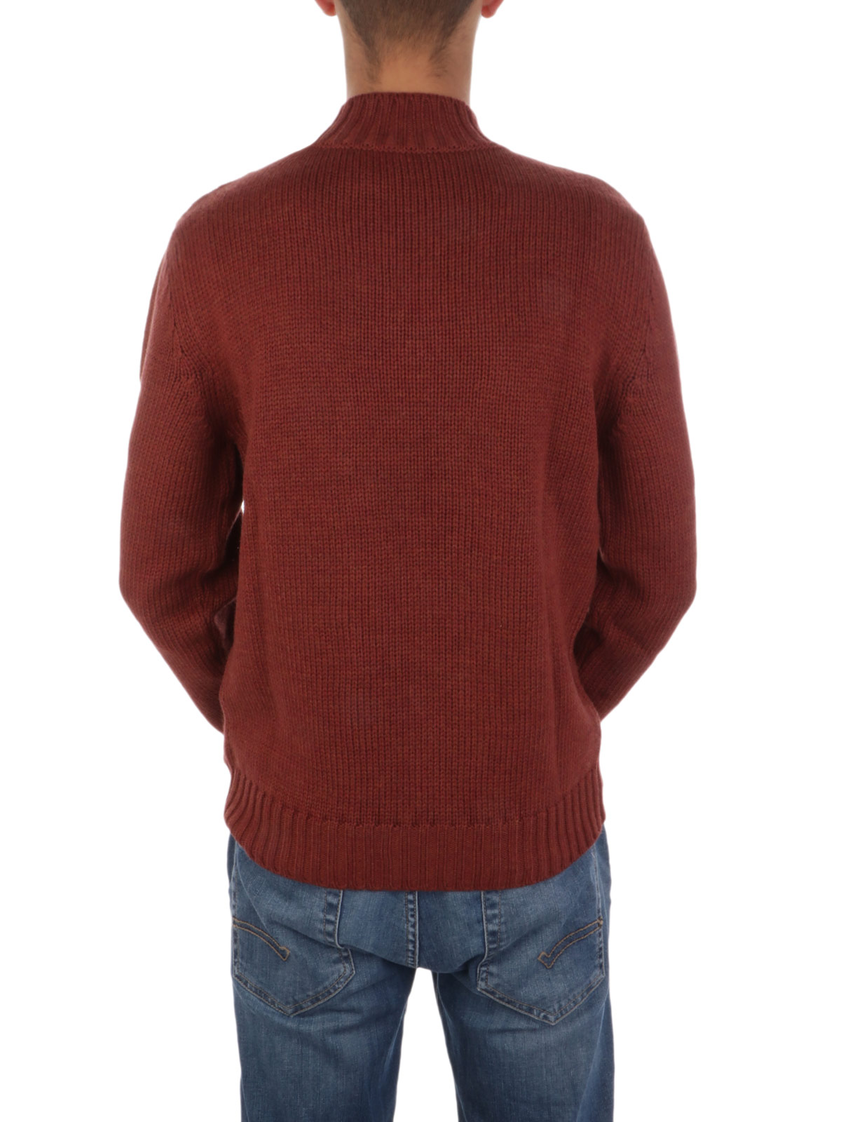 Picture of ELEVENTY | Men's Cable Knit Wool Sweater