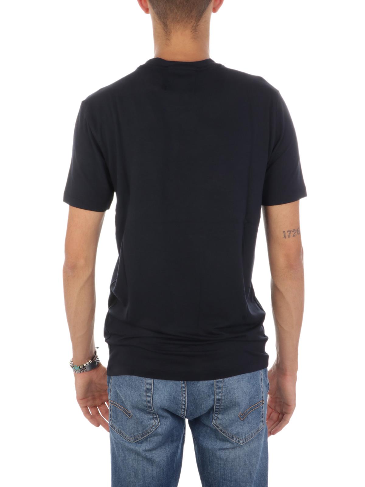 Immagine di EMPORIO ARMANI | T-Shirt Uomo in Viscosa Stretch