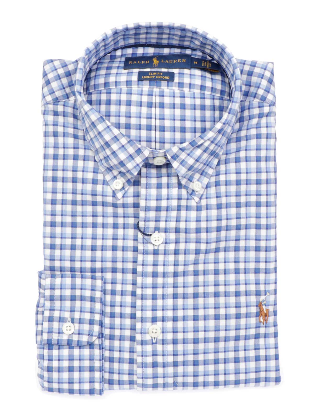 buy online 318d2 95ac2 POLO RALPH LAUREN Camicia Uomo Slim Fit a Quadretti