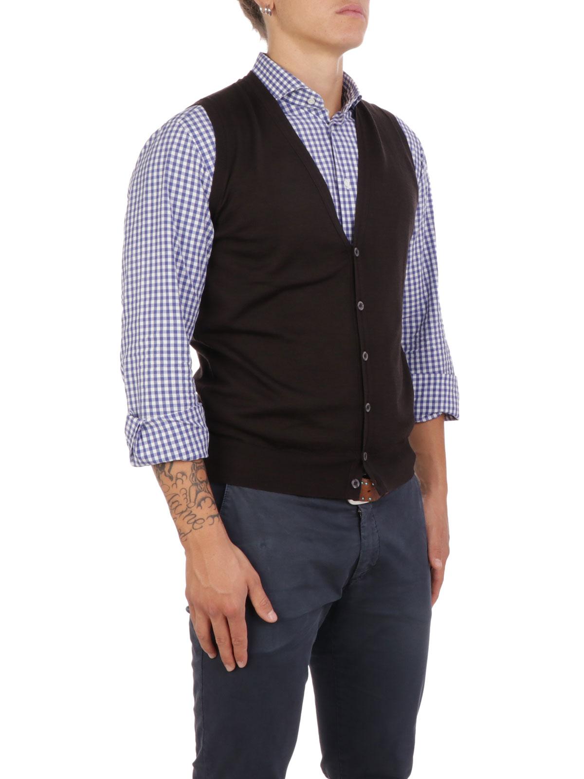 Picture of JOHN SMEDLEY | Men's Huntswod Waistcoat
