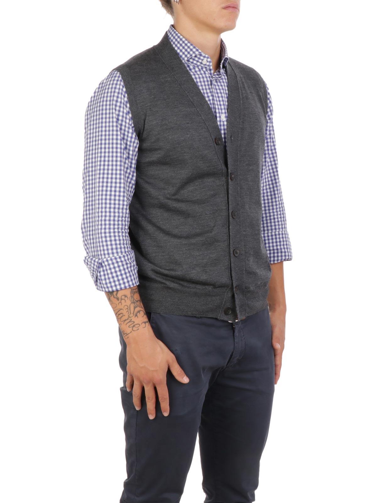 Picture of ALTEA | Men's Wool Vest