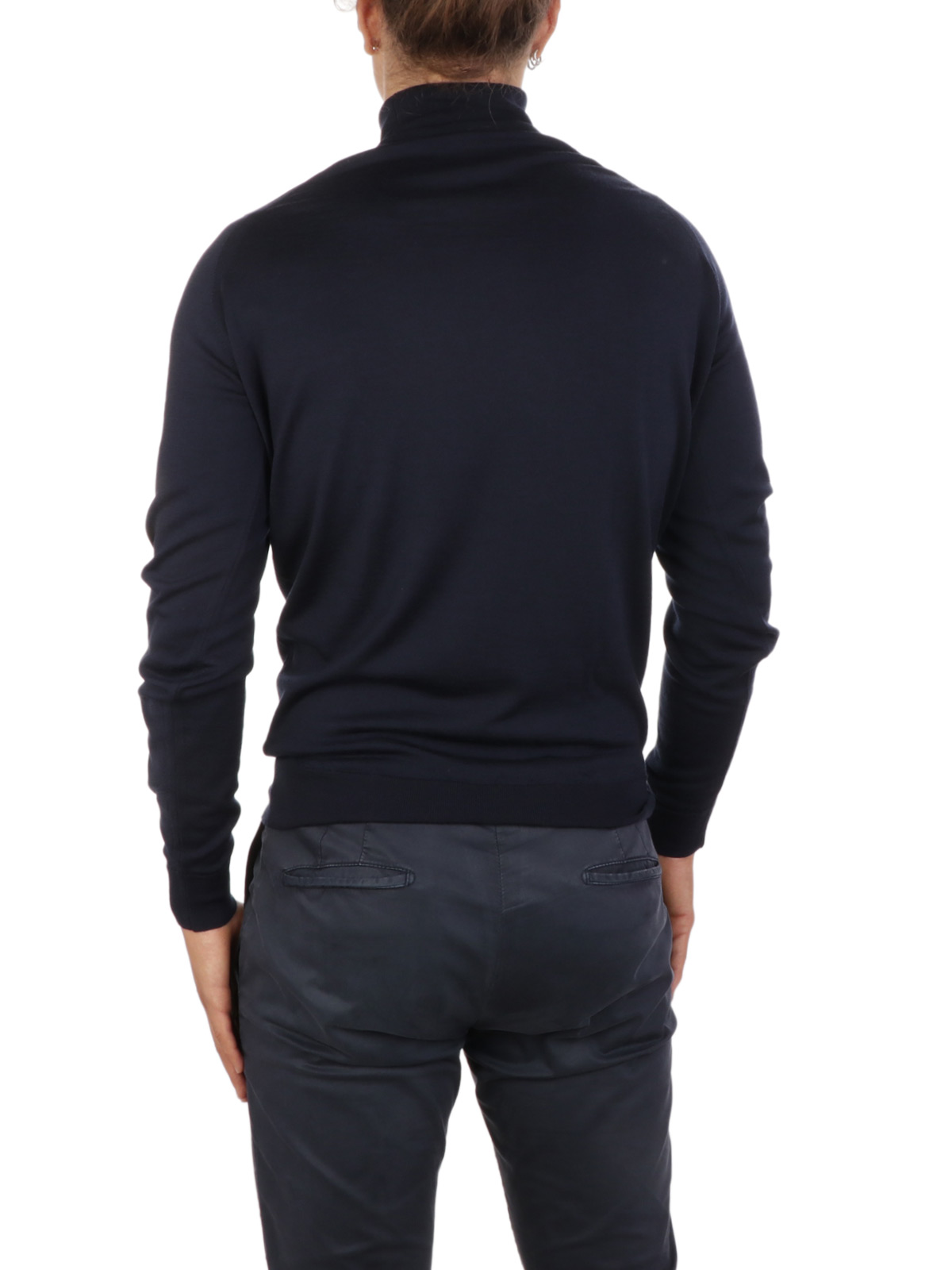 Picture of JOHN SMEDLEY | Men's Cherwell Turtleneck Sweater
