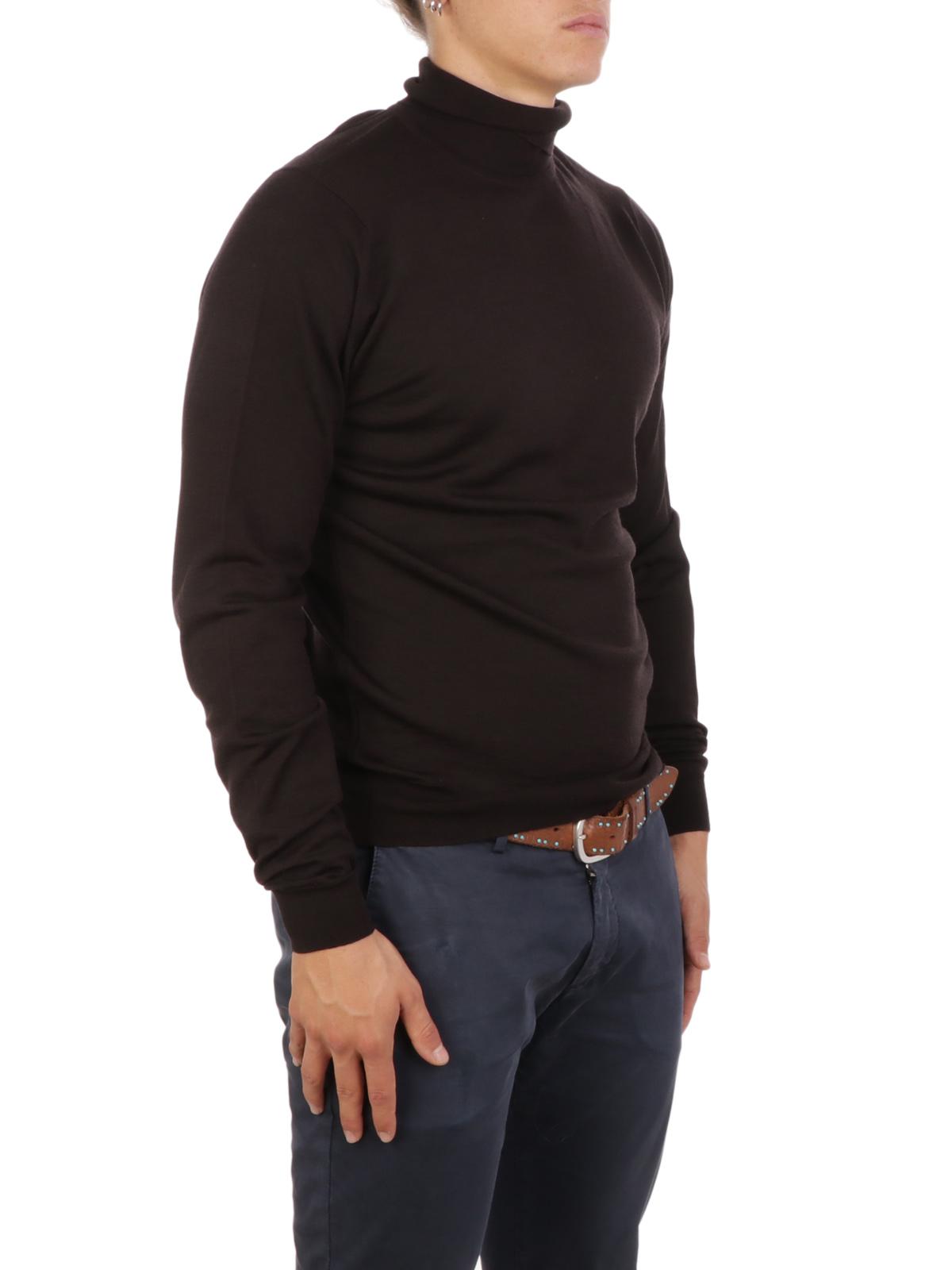 Picture of JOHN SMEDLEY | Men's Cherwell Turtleneck Sweater