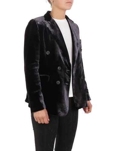 Picture of KILTIE | Women's Lauren Double-Breasted Satin Blazer