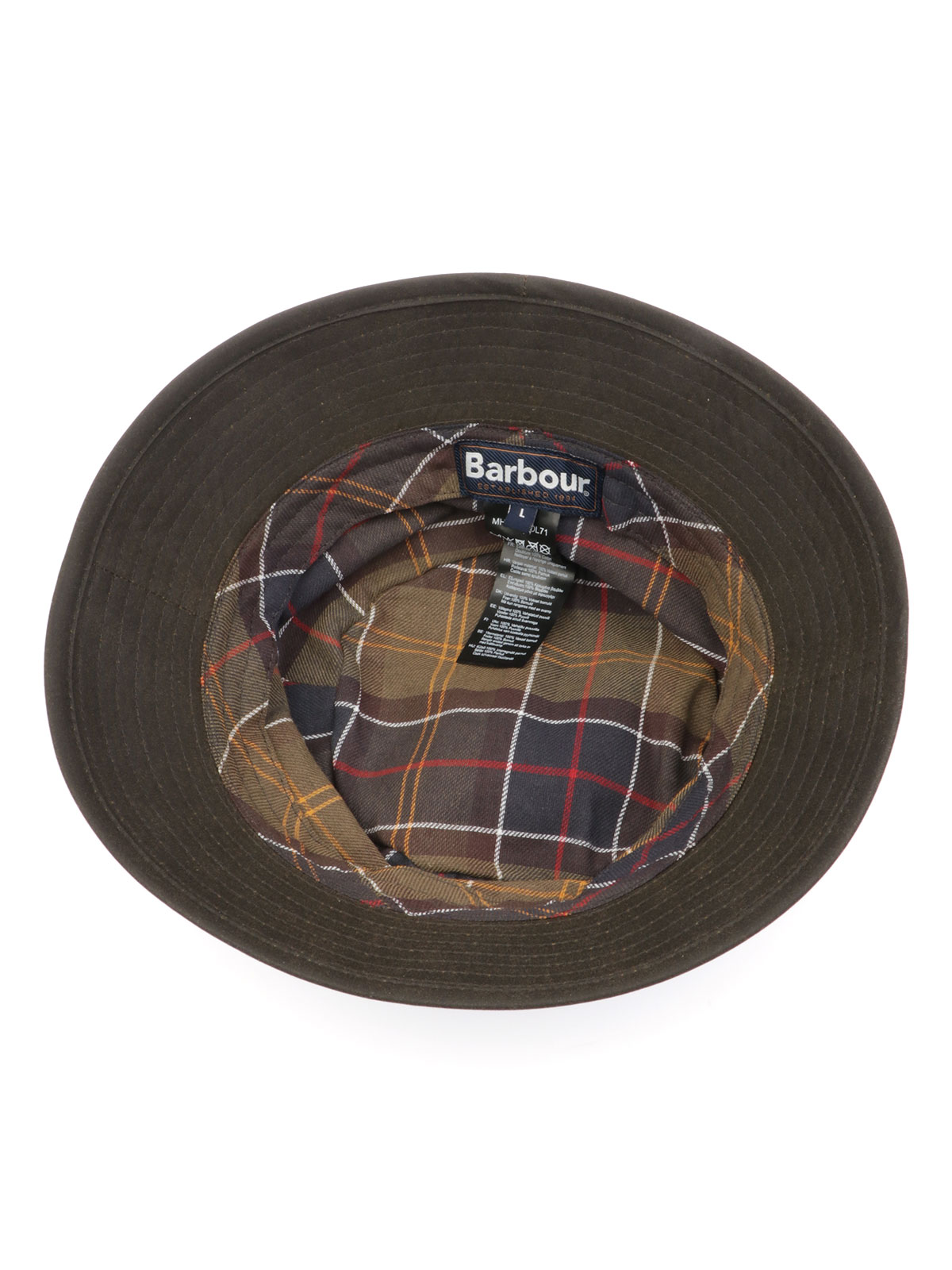 Picture of BARBOUR | Men's Waxed Fisherman Hat