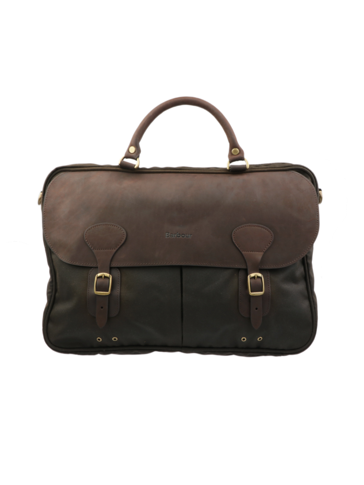 Picture of BARBOUR   Men's Wax Leather Briefcase