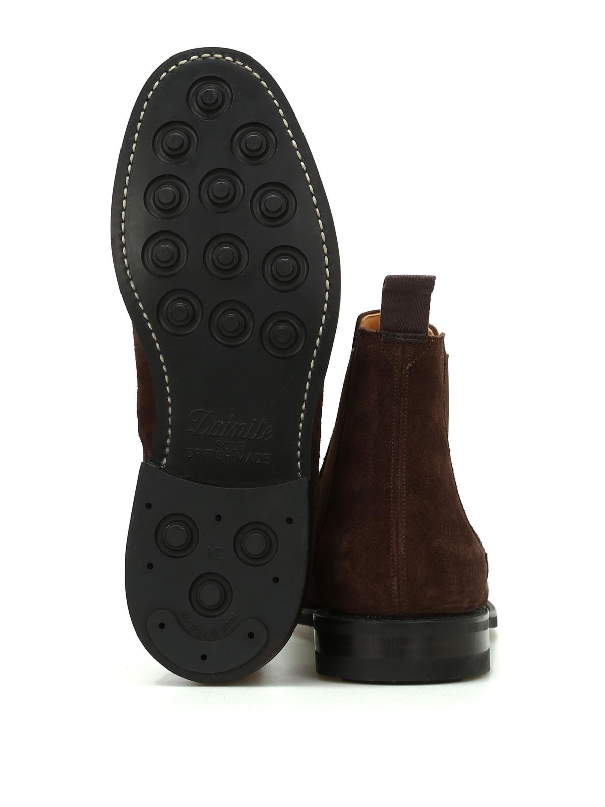 Picture of CHURCH'S   FOOTWEAR SCARPA REDENHAM CASTORO
