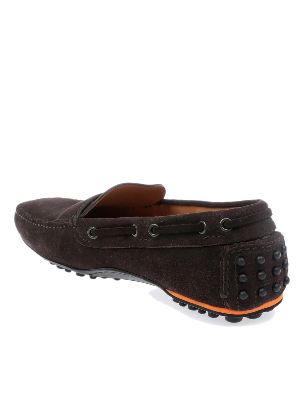 Picture of CAR Shoe | Men's Calf Suede Driving Shoe