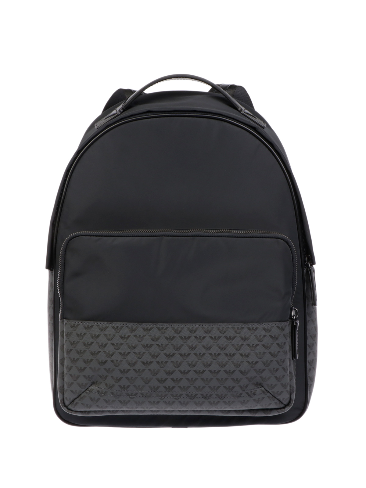 Picture of EMPORIO ARMANI | Men's Monogram Backpack