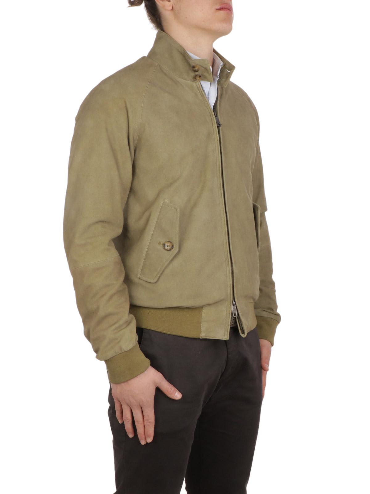 Picture of BARACUTA | Men's G9 Harrington Suede Jacket