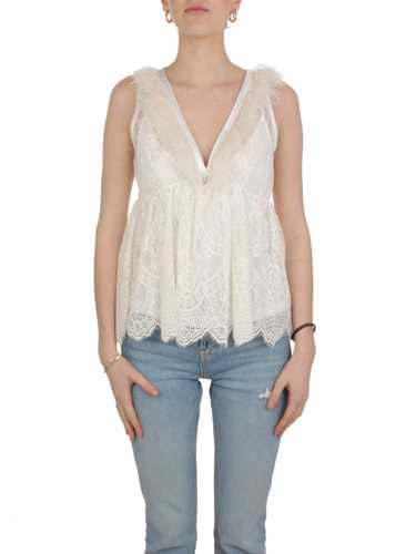 Picture of ANIYE BY | Women's Plumette Top in Lace